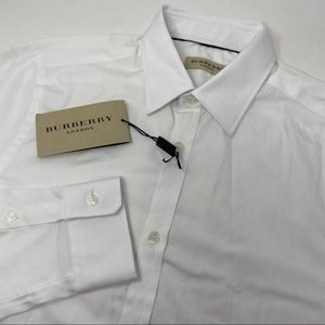 Burberry London Long Sleeve Button Front Shirt